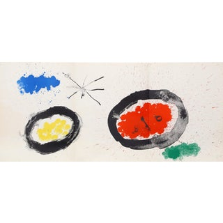 Joan Miró, Untitled From Derriere Le Miroir 3, Modern Lithograph For Sale