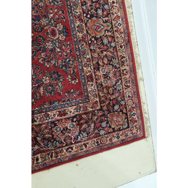 Traditional Karastan Pattern 785 Sarouk Approx 11 X 20 Rug For Sale - Image 3 of 11