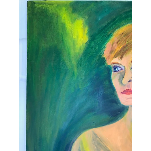 Contemporary Nude Woman Oil Painting For Sale In Washington DC - Image 6 of 11