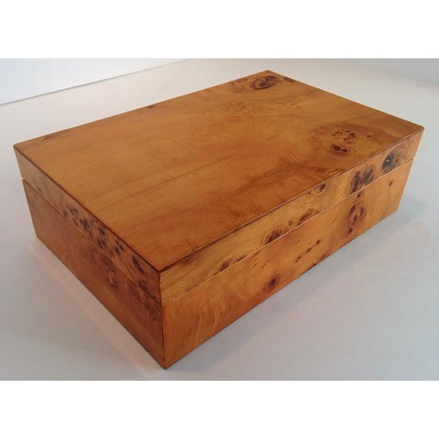 Burl Wood Box - Image 3 of 10