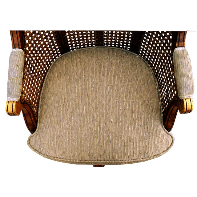 Faultless Doerner Bergère Office Chair For Sale In Los Angeles - Image 6 of 9