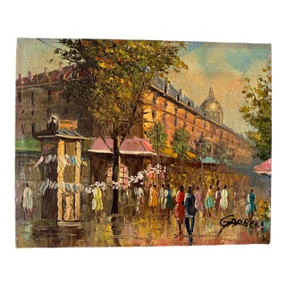 Garber Parisian Oil Painting For Sale