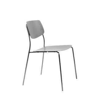 Swiss Design Felber Chair in Le Corbusier Ombre Naturelle 31 Color For Sale