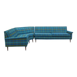 1960s Vintage Piece Harvey Probber Style Sectional For Sale