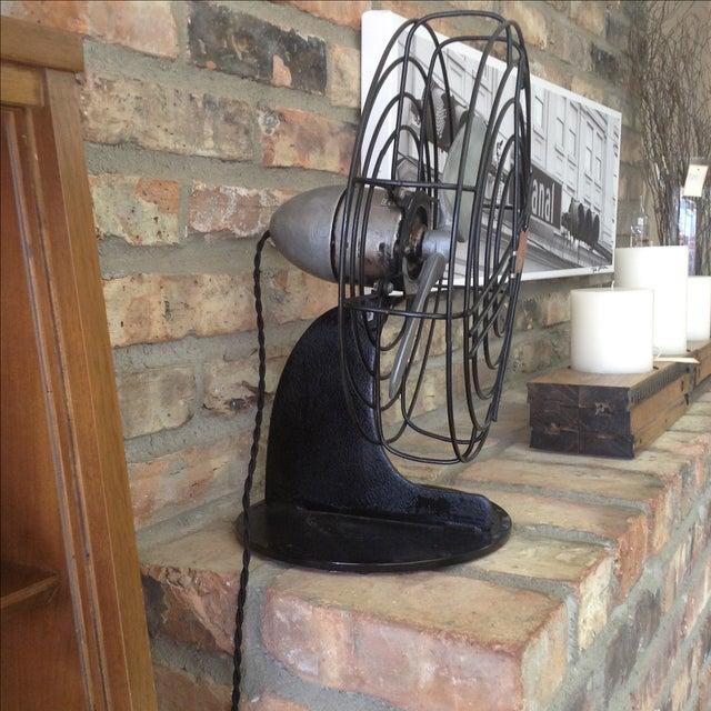 Vintage Air Castle Fan - Image 3 of 4
