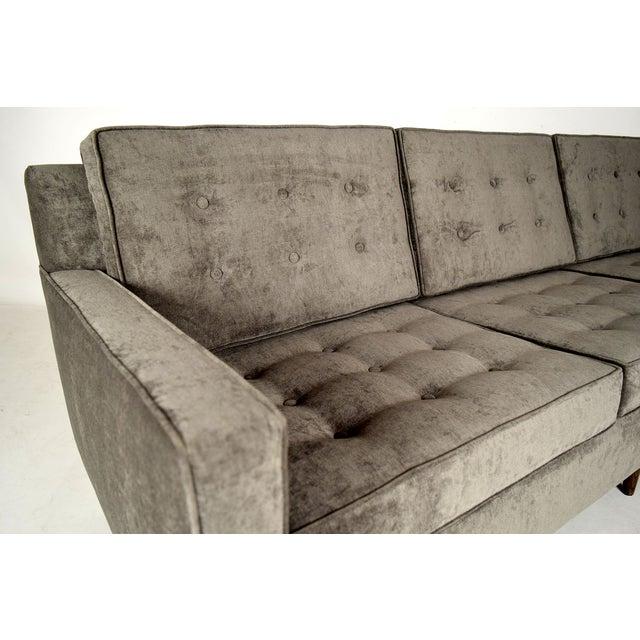 Stylish Mid-Century Modern Three Person Sofa - Image 5 of 7
