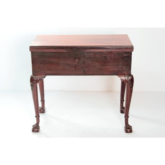 Georgian A George II Mahogany Harlequin Table For Sale - Image 3 of 13