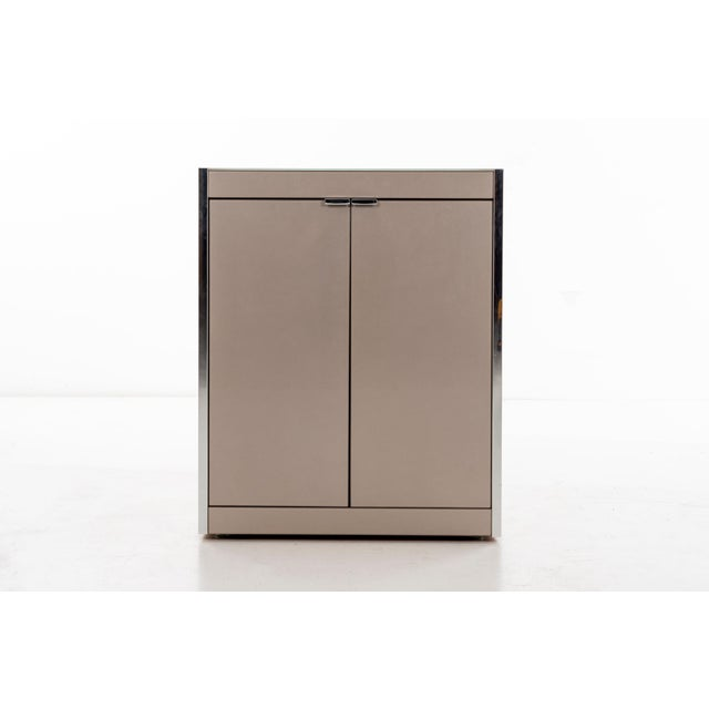 Metal Ello Nightstands or Cases For Sale - Image 7 of 13
