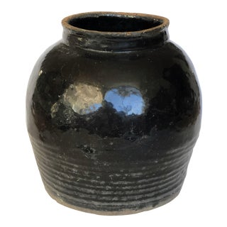 19th Century Chinese Shanxi Onyx Pot For Sale