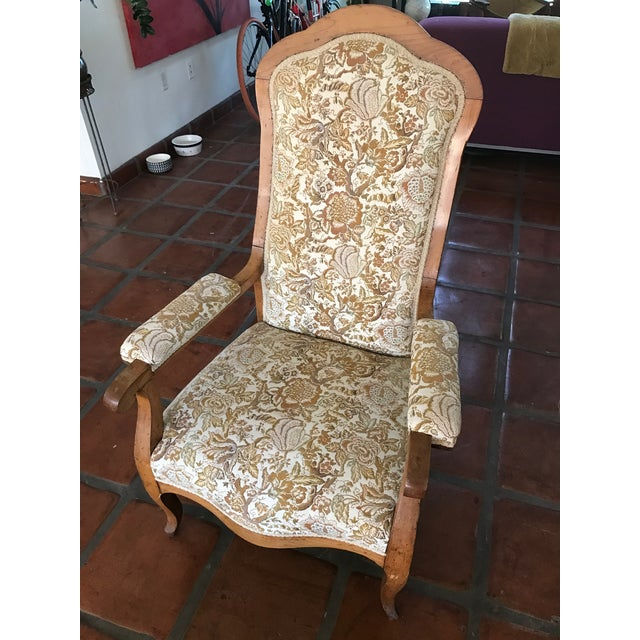 Antique French Country Bergere Chair Chairish
