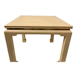 Asian Modern Game / Dining Table Att. K. Springer For Sale