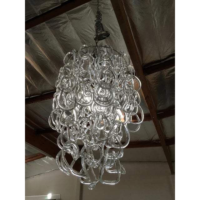 Angelo Mangiarotti for Vistosi Pendant Lamp For Sale In Los Angeles - Image 6 of 7