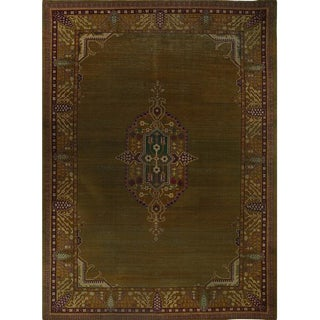 Late 19th Century Antique Handwoven Indian Agra Rug - 12′1″ × 16′ For Sale