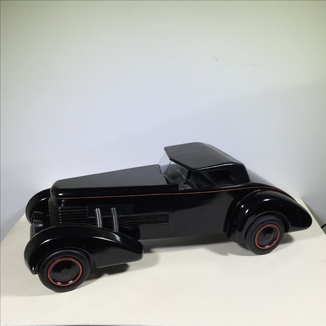Cord 1930 Limited Edition Wood Model Car For Sale - Image 10 of 10