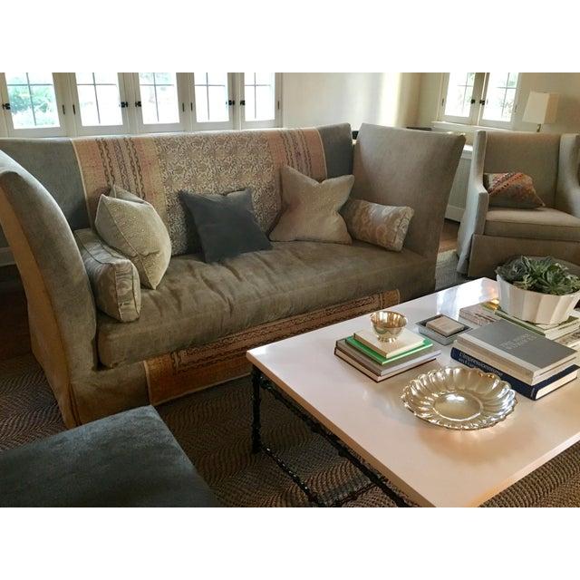 Tan Lee Industries Sagging Ridge Sofa, McAlpine Collection For Sale - Image 8 of 8