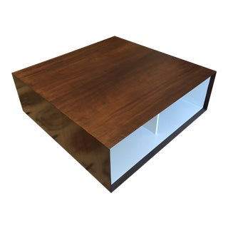 Modern Square Cocktail Table For Sale