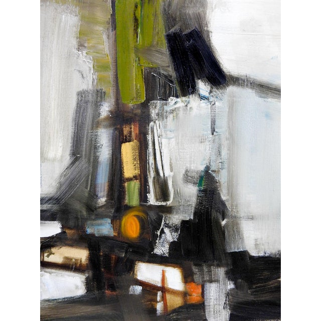 Abstract D. Ball Abstract Oil Painting For Sale - Image 3 of 4
