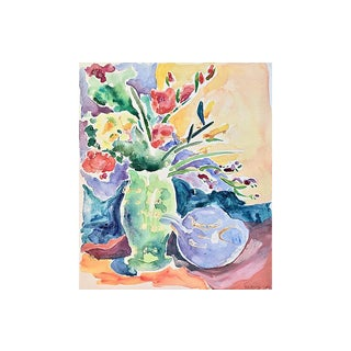 Still Life by Mary Cox, C. 1975 For Sale