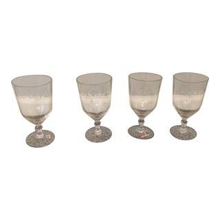 Fostoria Wine Glasses First Love For Sale