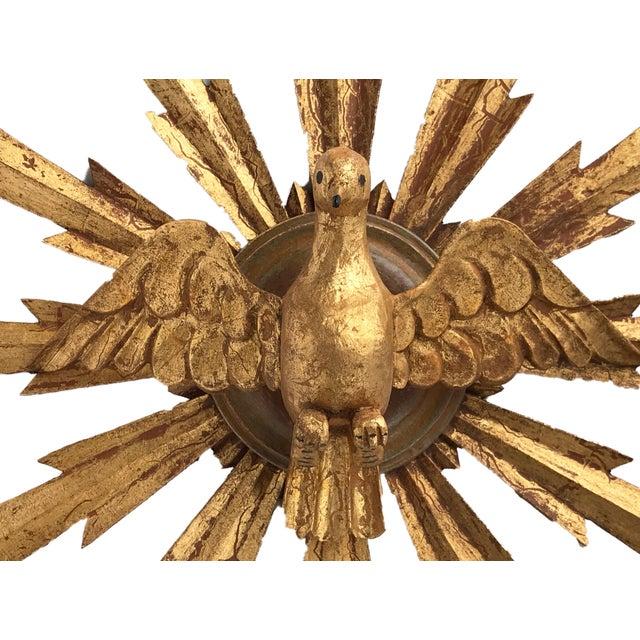 Wooden Dove Sunburst the Holy Spirit For Sale In New York - Image 6 of 7