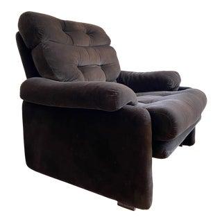 Tobia Scarpa for B&b Italia Chocolate Coronado Chair For Sale