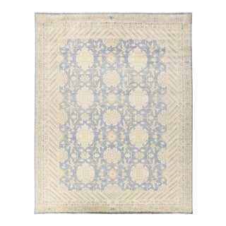 "Vera, Oushak Area Rug - 8' 9"" X 11' 2"" For Sale"