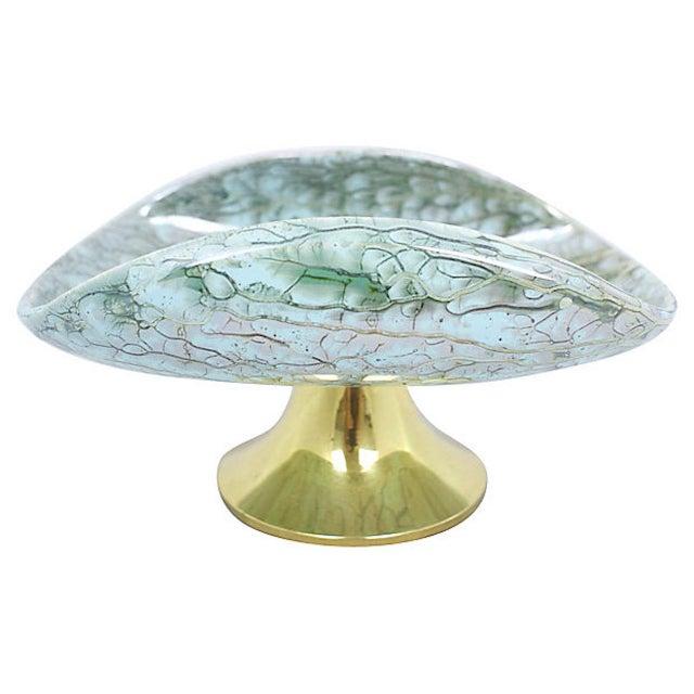 Delft Porcelain Pedestal Bowl For Sale In Los Angeles - Image 6 of 8