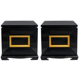 Image of Black Side Tables