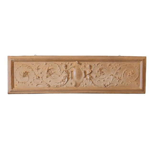Rococo Mid 18th Century Italian Rococo Terracotta Frieze For Sale - Image 3 of 6