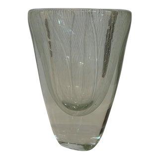 21st Century Crystal Murano Jellyfish Modern Vase by Alessandro Mandruzzato For Sale