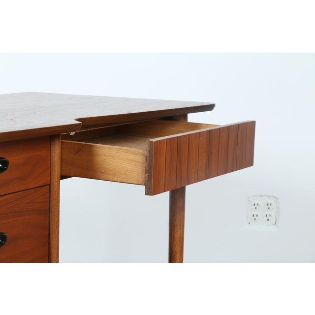 Hooker Mid-Century Walnut & Veneer Desk - Image 10 of 11