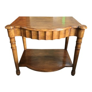 Early 19th Century Scalloped Console For Sale