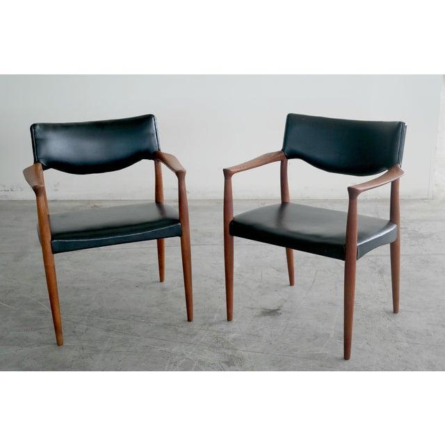 Bender Madsen Mid-Century Teak Chairs - A Pair - Image 3 of 8