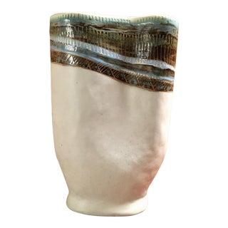 Marianna Von Allesch Abstract Free Form Vase For Sale