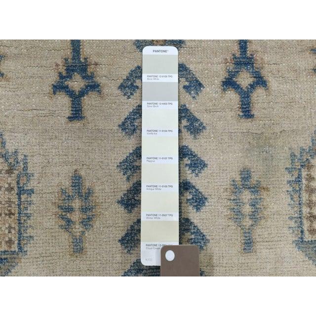 Shahbanu Rugs Kazak Geometric Design Wool Hand-Knotted Rug For Sale - Image 4 of 7