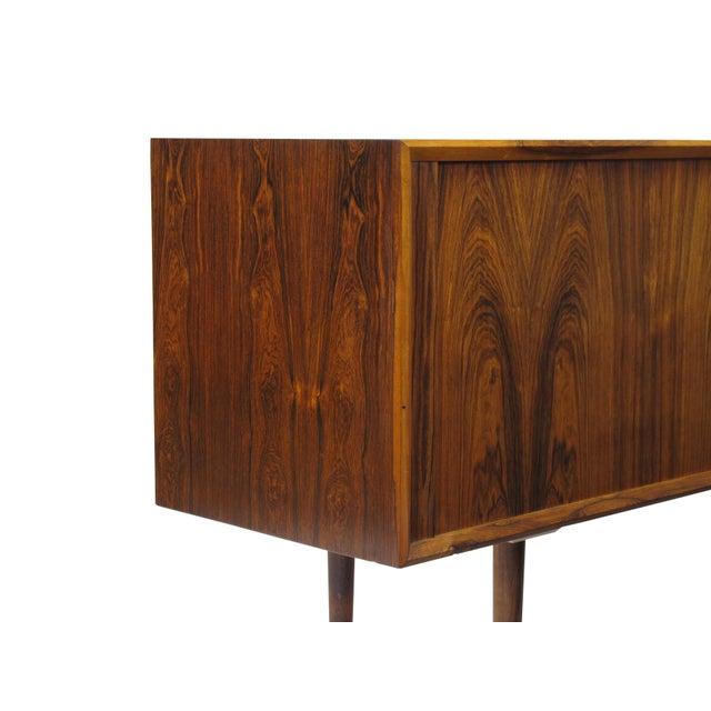 Brown Arne Vodder for P. Olsen Sibast Mobler Rosewood Tambour Credenza Sideboard For Sale - Image 8 of 10