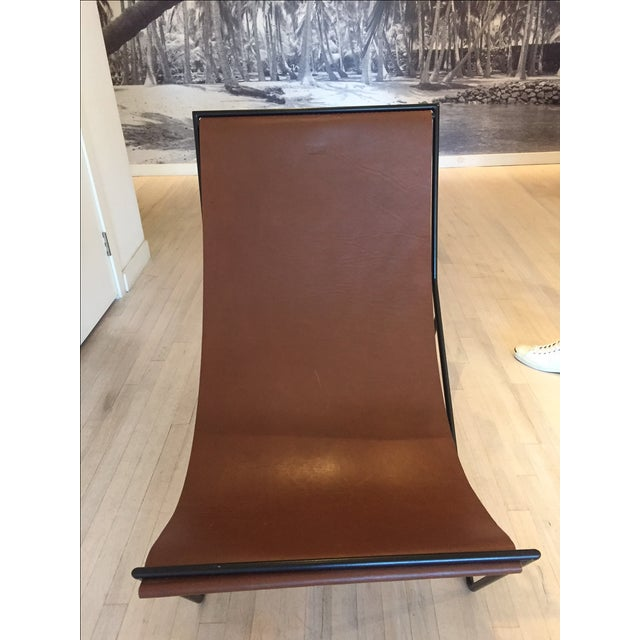 Modern Sit and Read Sling Chair by Kyle Garner For Sale - Image 3 of 4
