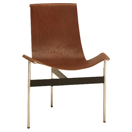 """Original Vintage """"T"""" Chair by Katavolos, Kelly & Littell for Laverne International - Image 1 of 11"""