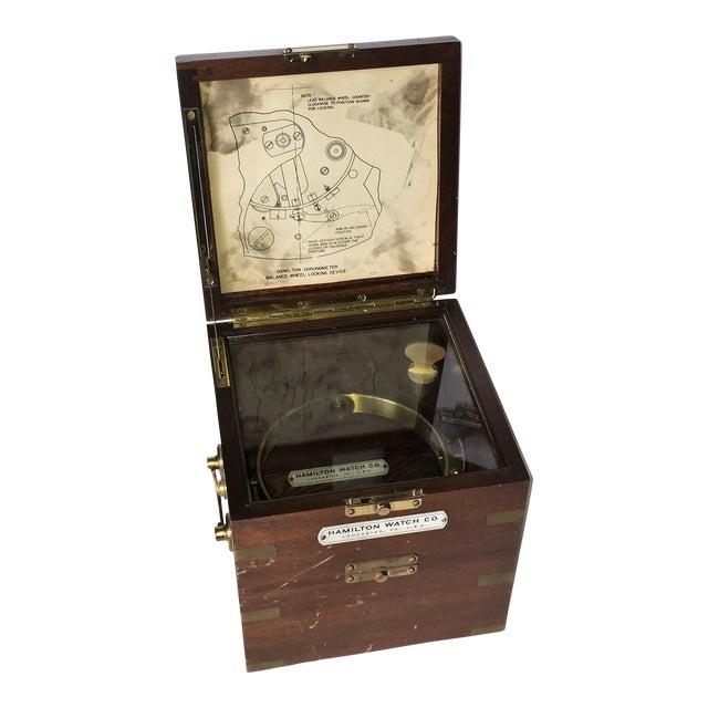 Vintage Marine Hamilton Chronometer Case - Image 1 of 9