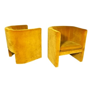 """Loafer"" Club Chair by Space Copenhagen, Dandelion Velvet For Sale"