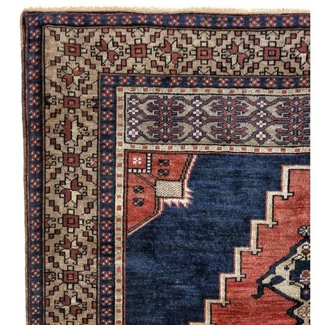Tribal 1980s Handmade Turkish Konya Rug - 5′5″ × 9′5″ For Sale - Image 3 of 5