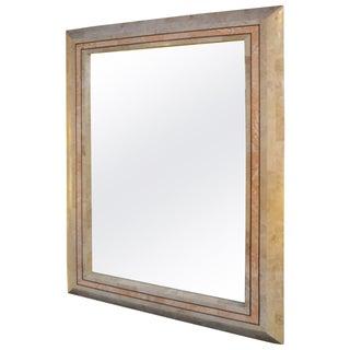 Maitland Smith Tesselated Marble Mirror
