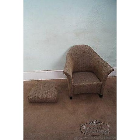 Thomasville Casa Bique Leopard Print Club Lounge Chair For Sale In Philadelphia - Image 6 of 13