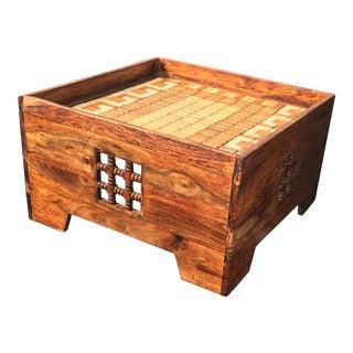 Custom Mission Reclaimed Wood Coffee Table