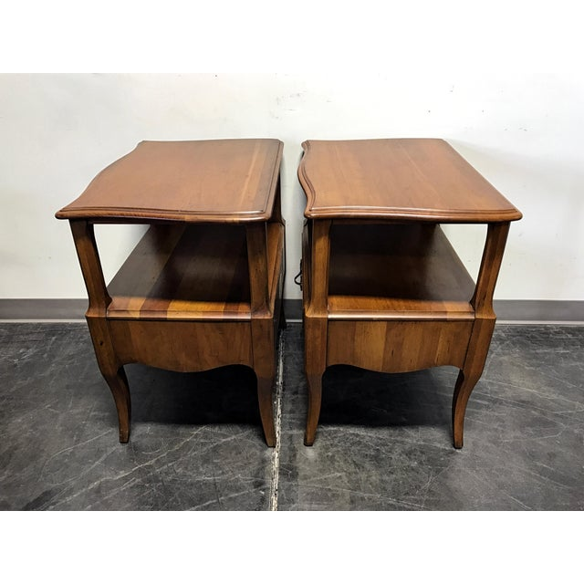 Davis Cabinet Co French Provincial Nightstands - A Pair - Image 9 of 11