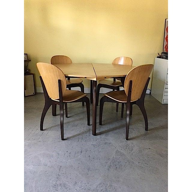 Sculptural Italian Dining Set - Image 3 of 8