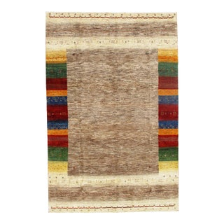 "Persian Pasargad N Y Gabbeh Rug - 7′2″ × 10′11"" For Sale"