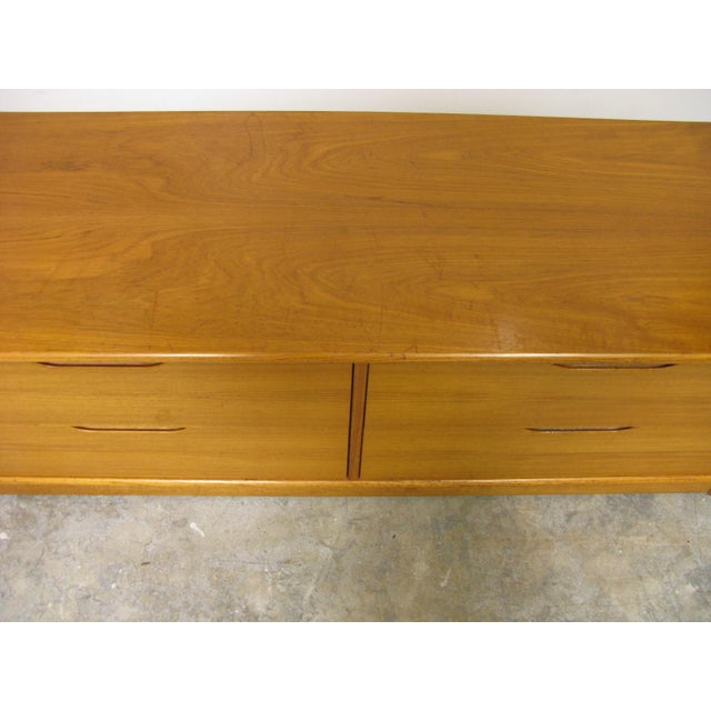 1970s Danish Teak Media Cabinet For Sale - Image 12 of 13