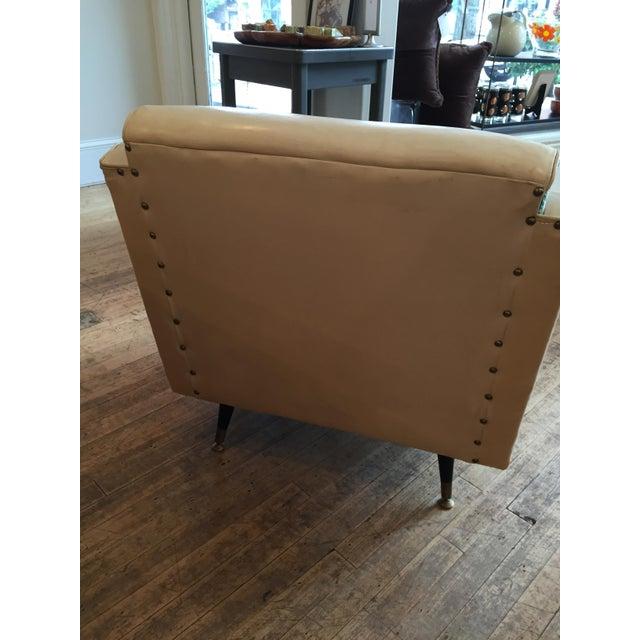Mid Century Atomic Era Club Chair - Image 4 of 6