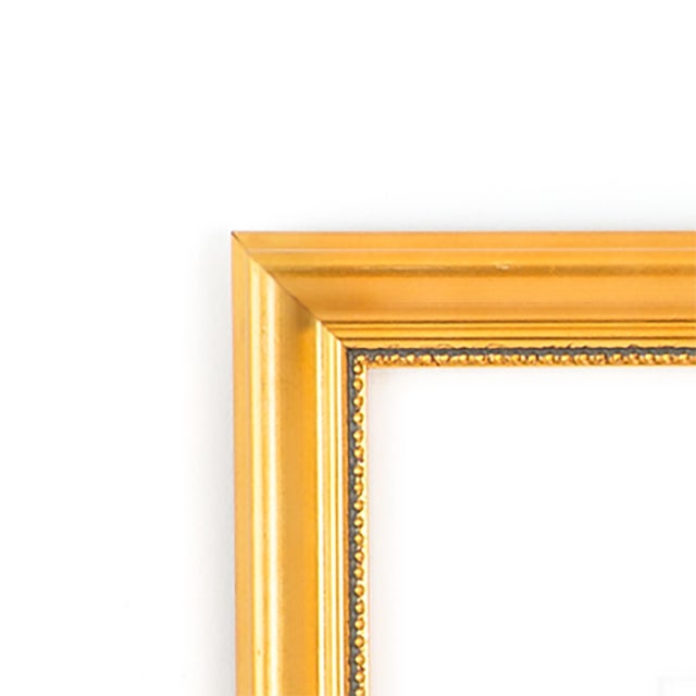 """""""He and I"""" Gold Framed Print With White Mat - Image 3 of 4"""
